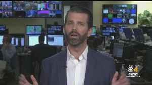 WBZ-TV's Paula Ebbens Interviews Donald Trump Jr. On The President's Rhetoric, Hunter Biden Comments [Video]