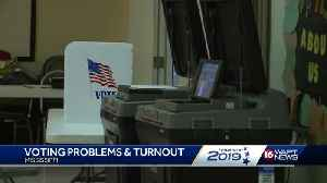 Some problems reported at polls [Video]