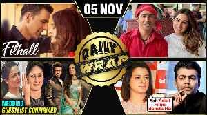 Rangoli INSULTS Karan, Malaika Arjun Wedding Guest List, Akshay's 1st Music Video | Top 10 News [Video]