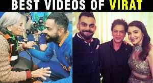Virat Kohli Best Moments With 87 Yr Old Charulata Patel, Dance With Shahrukh, Anushka   BEST VIDEOS [Video]