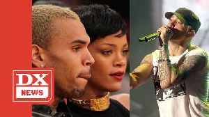 Eminem Raps About Chris Brown's Assault On Rihanna In Leaked Snippet [Video]
