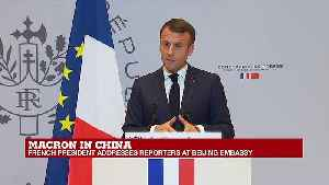 """Macron on Iran deal: """"The next few weeks will be dedicated to putting greater pressure on Iran"""" [Video]"""