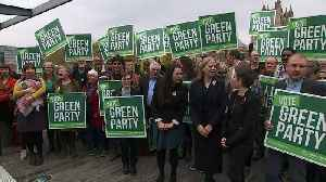 Greens launch election campaign in Bristol [Video]