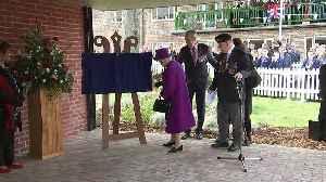 Queen marks centenary of Royal British Legion Industries [Video]