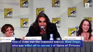 Jason Momoa Upset Over Short Run in 'Game of Thrones' [Video]