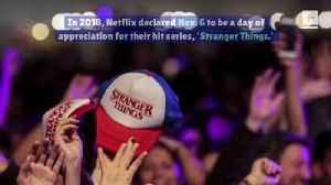 Fans Celebrate 'Stranger Things' Day [Video]