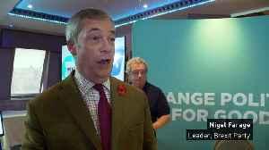 Nigel Farage: 'Tories pose as the Eurosceptics' [Video]