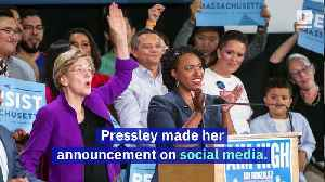 Rep. Ayanna Pressley Endorses Elizabeth Warren for President [Video]