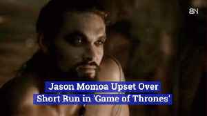 Jason Momoa's Thoughts On 'Game of Thrones' [Video]