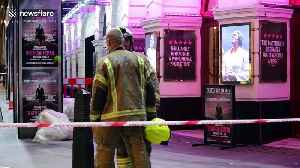 Emergency services at Piccadilly Theatre after ceiling collapses during performance [Video]