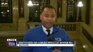Senate passes OWI homicide mandatory minimum bill [Video]
