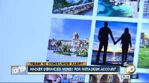 Hacker demanded money for Instagram account [Video]