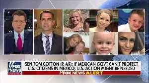 Cotton: Mexican government can't handle the cartel violence [Video]