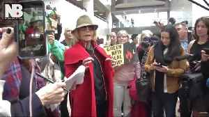 News video: Jane Fonda Says She's Fighting Climate Change By Not Buying Any New Clothes