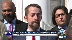 Florida high court hears arguments on felon voting rights [Video]