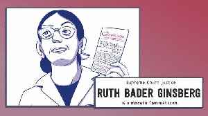 Becoming RBG by Debbie Levy, illustrated by Whitney Gardner | Book Trailer [Video]