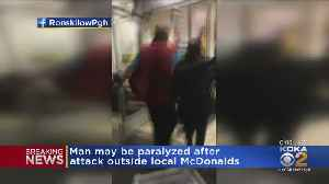 Woman Arrested In Violent Assault Outside McDonald's Downtown [Video]