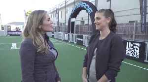 Exclusive: Powerade Name's Renovated Soccer Field After US Women's Soccer Star Alex Morgan [Video]