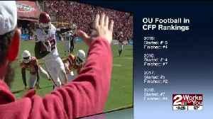 News video: Oklahoma #9 in initial College Football Playoff Rankings, behind Georgia, Oregon, Utah