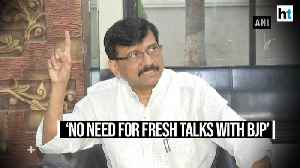 News video: 'Consensus on CM post reached before polls': Shiv Sena refuses to budge