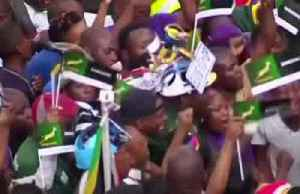 Springboks arrive back in South Africa after World Cup triumph [Video]