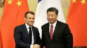 France and China reassert mutual support for the 'irreversible' Paris climate agreement [Video]