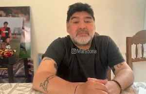 "Maradona says ""I'm not dying"" after daughter claimed that he is [Video]"