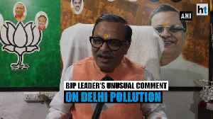 'Pakistan may have released poisonous air into India': BJP leader on pollution [Video]