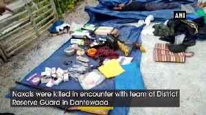 2 Naxals killed in encounter with DRG in Chhattisgarh [Video]