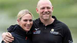 Zara Tindall's Husband Accidentally Reveals Adorable Photo Of His Wife And Daughter [Video]