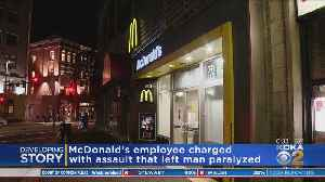 McDonald's Employee Charged In Violent Assault [Video]