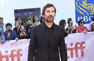 Christian Bale's kids like set catering [Video]