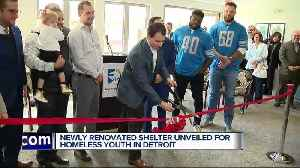 Covenant House Michigan unveils renovated Caritas emergency shelter for homeless youth [Video]