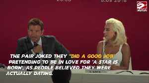Lady Gaga and Bradley Cooper 'did a good job' with their fake romance [Video]