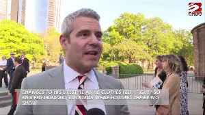 Andy Cohen slims down after ditching cocktails [Video]