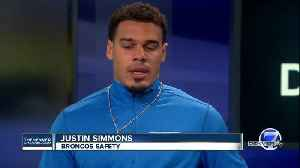 Justin Simmons: staying healthy on & off the field [Video]