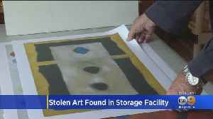 Artwork Stolen In 2012 Recovered At San Fernando Storage Facility [Video]