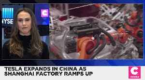 Tesla Plans to Expand in China as It Gears Up to Open Shanghai Plant [Video]