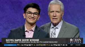 News video: Teen Jeopardy Winner Gives Back