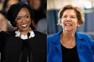 News video: Rep. Ayanna Pressley Endorses Elizabeth Warren for President