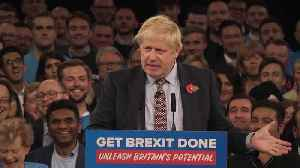 News video: Boris Johnson compares Brexit deal to microwave meal.