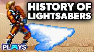 History of Video Game Lightsabers | MojoPlays [Video]