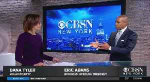 News video: One-On-One With Brooklyn Borough President Eric Adams