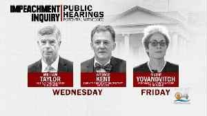 Rep. Schiff Announces Public Hearings In Impeachment Inquiry To Begin Next Week [Video]