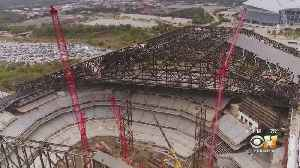 Globe Life Field Now 84 Percent Complete, Rangers Say [Video]
