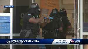 Active shooter drill held at Jackson Walmart [Video]
