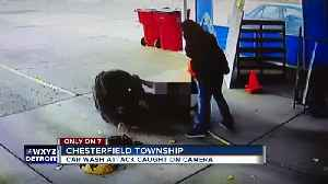 Chesterfield Township car wash attack caught on video [Video]