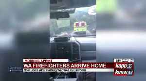 Local firefighters return [Video]