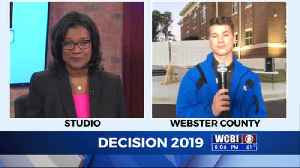 WCBI's Election Coverage: Cash Matlock is live in Webster County [Video]