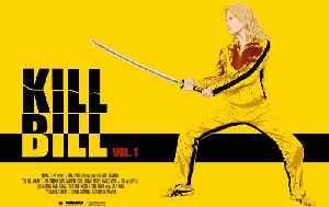 Kill Bill Vol. 1  movie (2003) Uma Thurman, Lucy Liu, Vivica A. Fox , Michael Madsen, Daryl Hannah, David Carradine [Video]